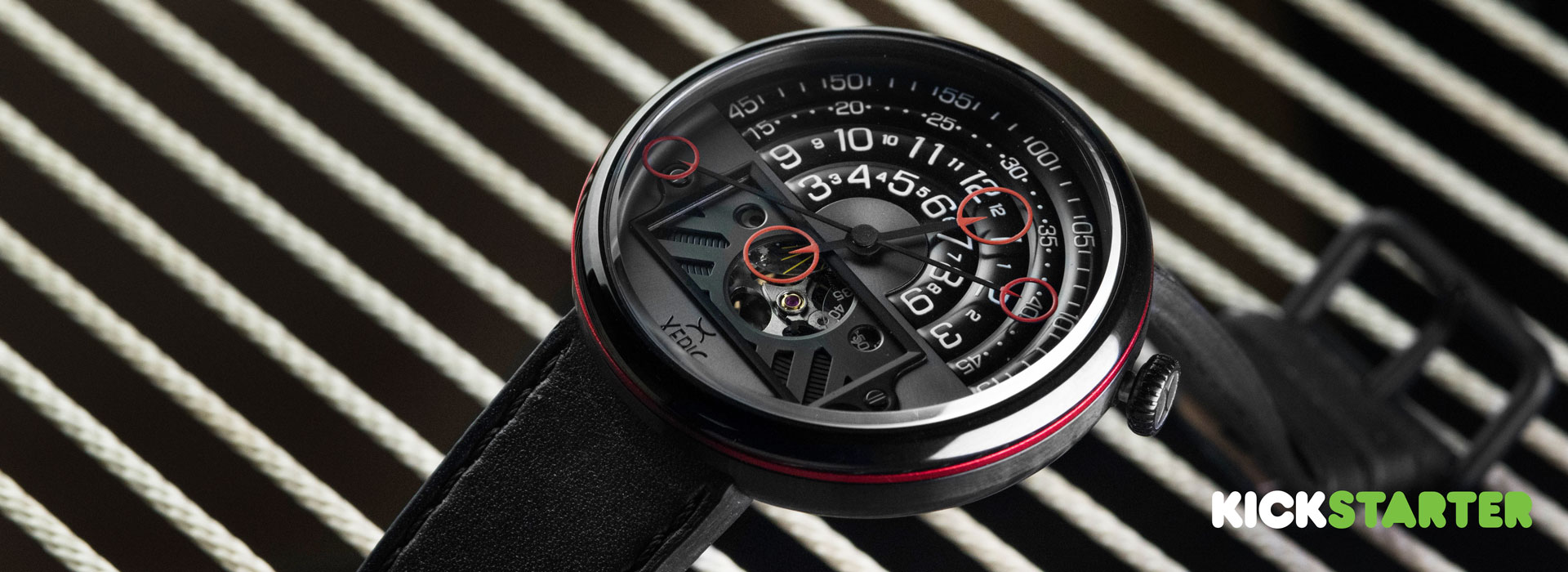 The all new Halograph II Automatic by Xeric