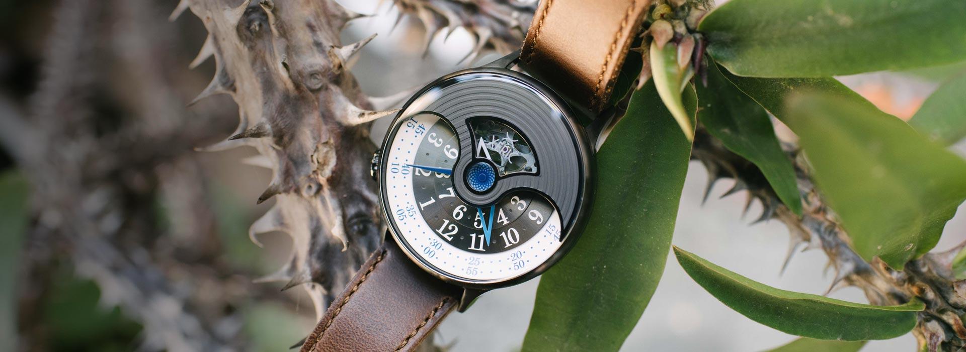 xeric watches evergraph gunmetal