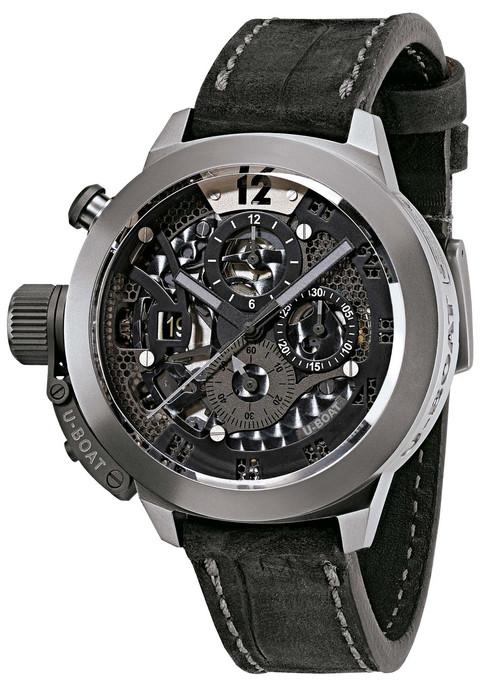 Best Automatic Watches >> U-Boat Classico 45 Automatic Titanium Tungsten Skeleton ...