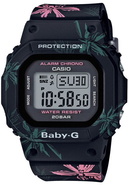 G Shock Baby G Summer Floral Black Watches Com