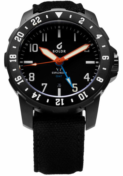Best Automatic Watches >> Boldr x Watches.com Explorer GMT II Limited Edition | A ...
