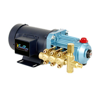 SunRay SIJ Pump Brush Type Plunger Pump 2.4GPM 400PSI Brush Type Motor