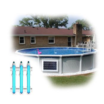 Above Ground Pool Magnet Wireless Power UV System 2