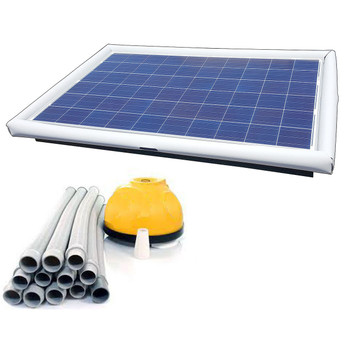 Savior Cleaner Suction 120-watt Solar Pool Cleaner