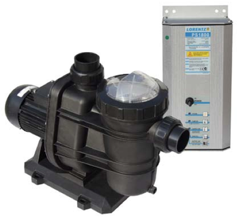 "Lorentz Solar Pool Pump PU1800 CS-37-1, UL, ID 3"" - Item # 10-005590"