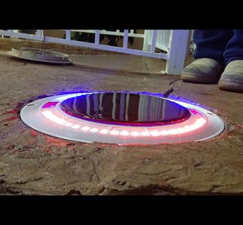 Savior Skimmer Lid Solar Skimmer Lid RGB Light