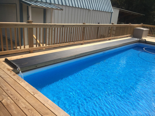 Custom Heater Cut - Pool Deck Side - 30 foot