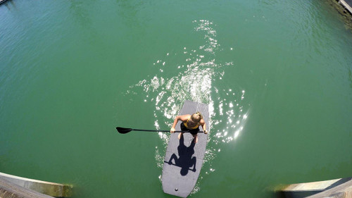 EVA SUP 8.0 Yogi XL Stand Up Paddle Board - Silver