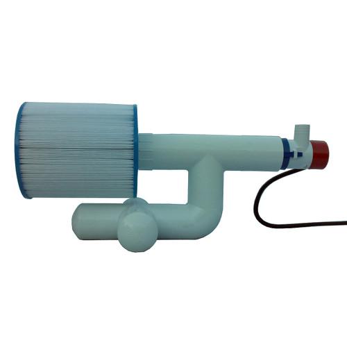 Bottom Feeder 5000 Gallon Pool 30-watt Solar Pump and Filter System