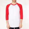 Unisex Flag Yorkie Raglan T-Shirt