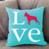 Boston Terrier Love Pillow