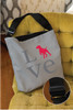 Love German Shorthaired Pointer Adjustable Tote Bag
