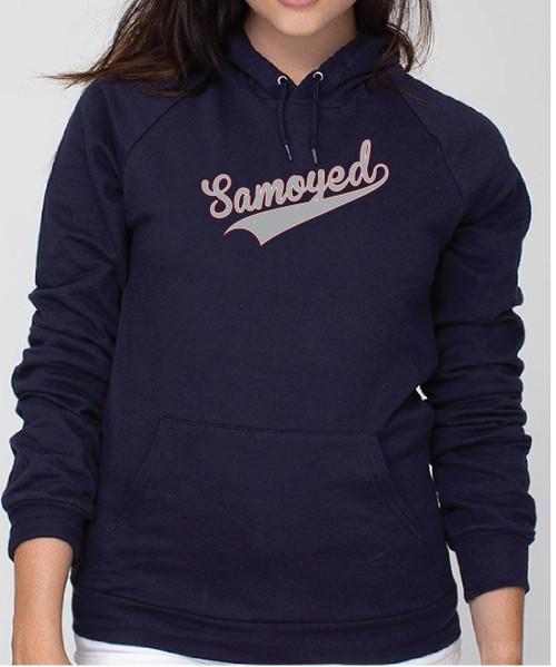 Righteous Hound - Unisex Varsity Samoyed Hoodie