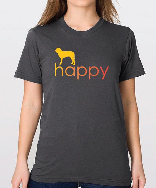 Righteous Hound - Unisex Happy Mastiff T-Shirt