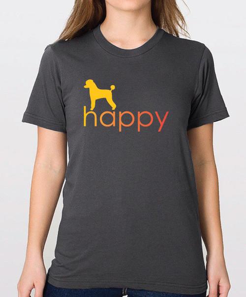 Righteous Hound - Unisex Happy Poodle T-Shirt