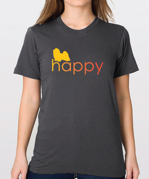 Righteous Hound - Unisex Happy Shih Tzu T-Shirt
