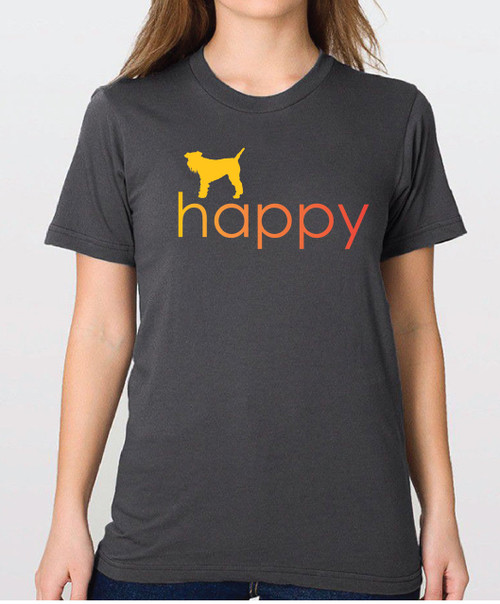 Righteous Hound - Unisex Happy Schnauzer T-Shirt