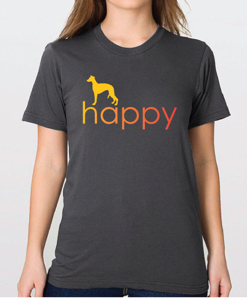 Righteous Hound - Unisex Happy Whippet T-Shirt