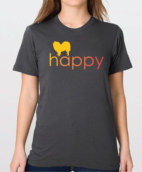 Righteous Hound - Unisex Happy Samoyed T-Shirt
