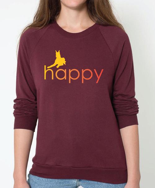 Righteous Hound - Unisex Happy Great Dane Sweatshirt