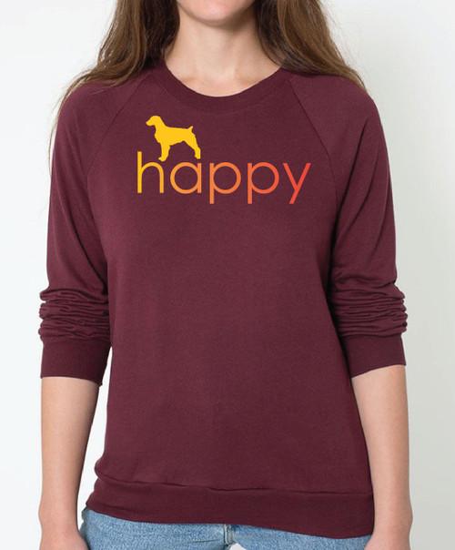 Righteous Hound - Unisex Happy Brittany Sweatshirt