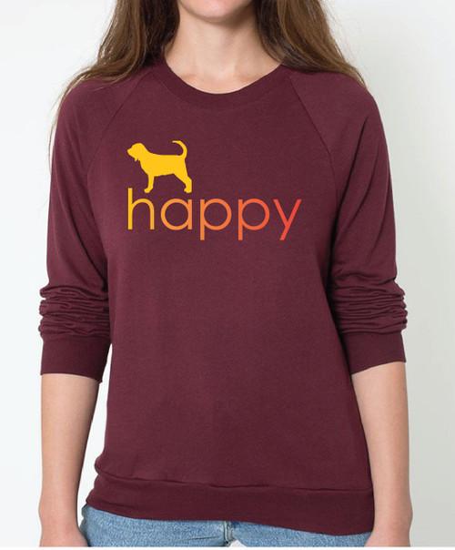 Righteous Hound - Unisex Happy Bloodhound Sweatshirt