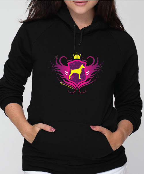 Righteous Hound - Unisex Noble Doberman Hoodie