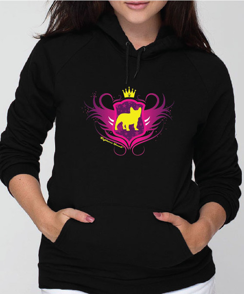 Righteous Hound - Unisex Noble French Bulldog Hoodie
