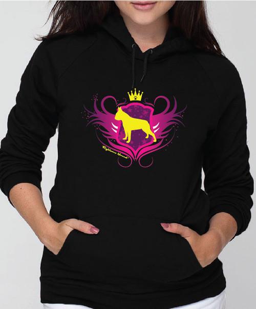 Righteous Hound - Unisex Noble Boston Terrier Hoodie