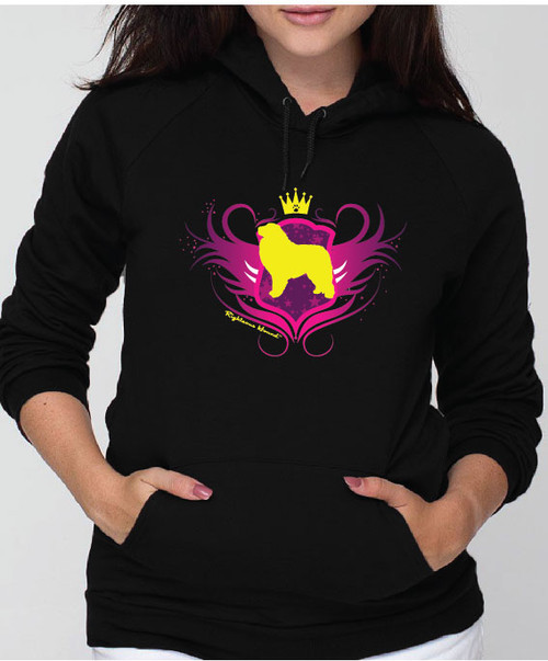 Righteous Hound - Unisex Noble Great Pyrenees Hoodie