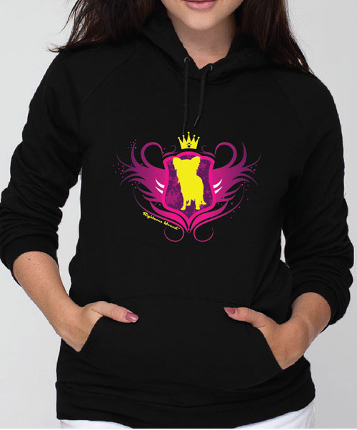 Righteous Hound - Unisex Noble Papillon Hoodie
