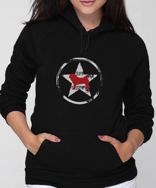 Unisex Allstar Pug Hoodie