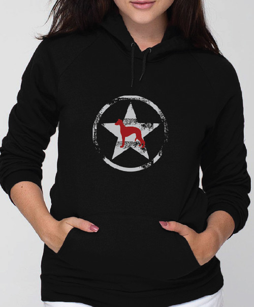 Unisex Allstar Whippet Hoodie