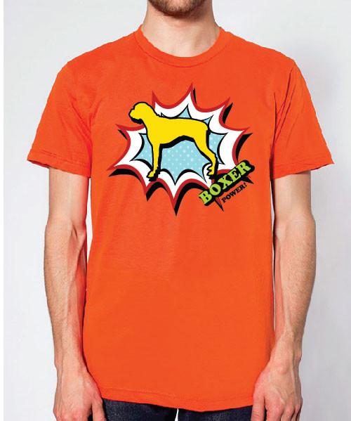Righteous Hound - Unisex Comic Boxer T-Shirt
