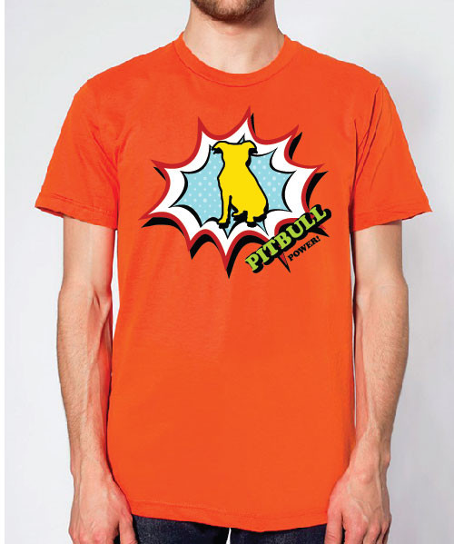 Righteous Hound - Unisex Comic Pitbull T-Shirt