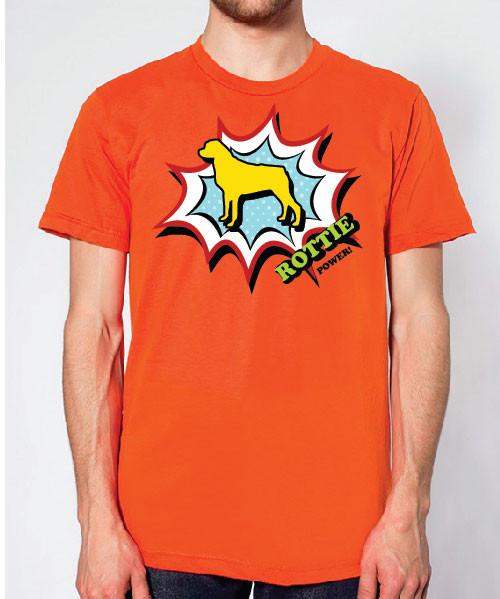 Righteous Hound - Unisex Comic Rottweiler T-Shirt