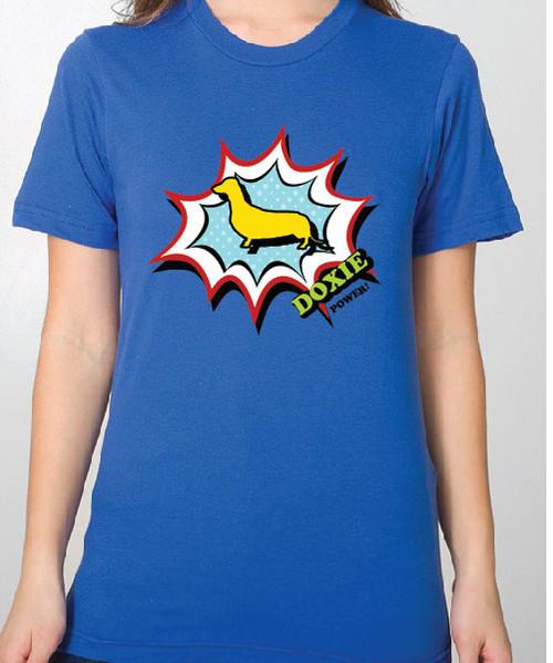 Unisex Comic Dachshund T-Shirt