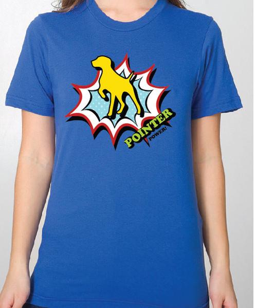 Unisex Comic German Shorthaired Pointer T-Shirt