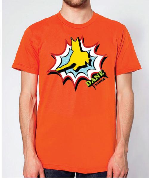 Righteous Hound - Unisex Comic Great Dane T-Shirt