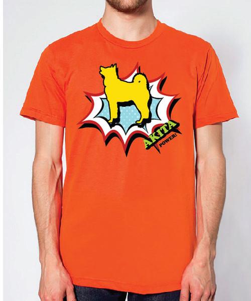 Righteous Hound - Unisex Comic Akita T-Shirt