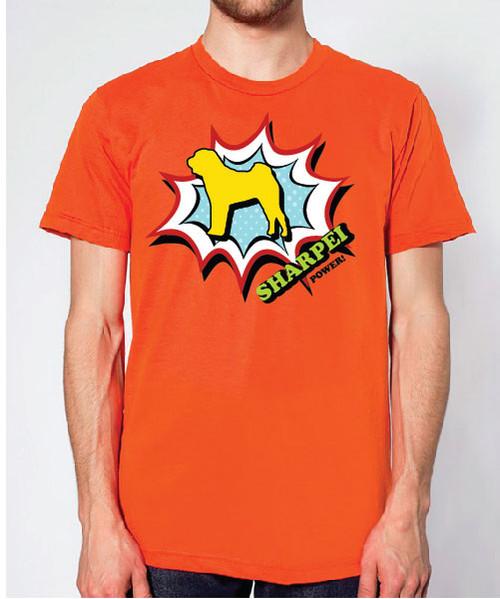 Righteous Hound - Unisex Comic Shar-Pei T-Shirt