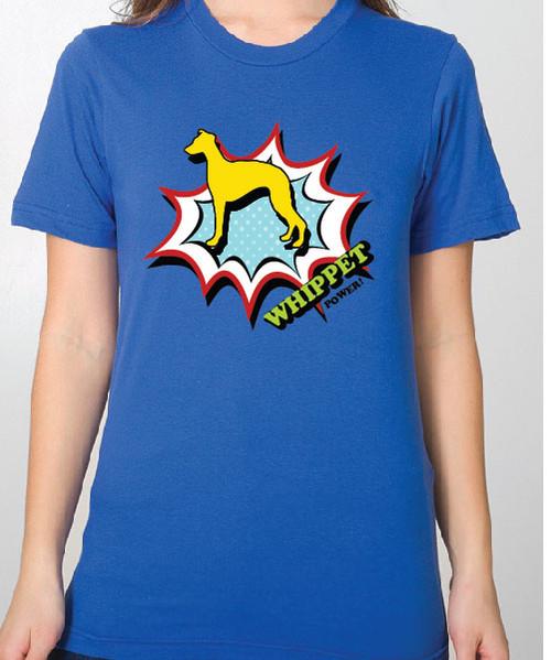 Unisex Comic Whippet T-Shirt