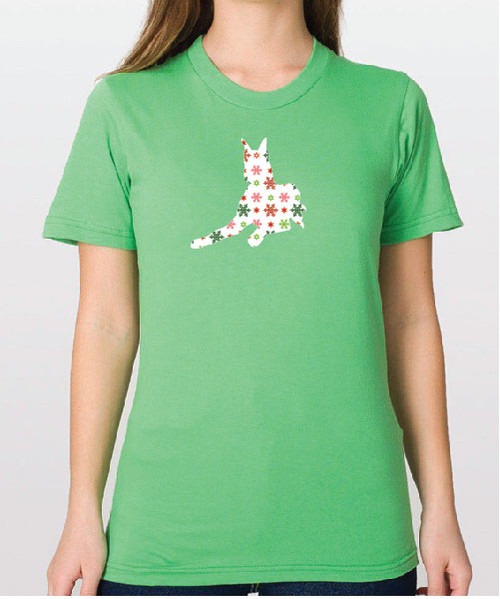 Righteous Hound - Unisex Holiday Great Dane T-Shirt