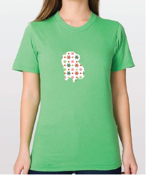 Righteous Hound - Unisex Holiday Maltese T-Shirt