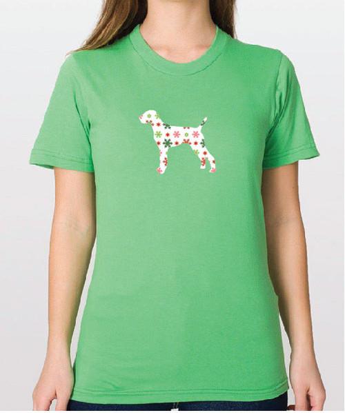 Righteous Hound - Unisex Holiday Vizsla T-Shirt