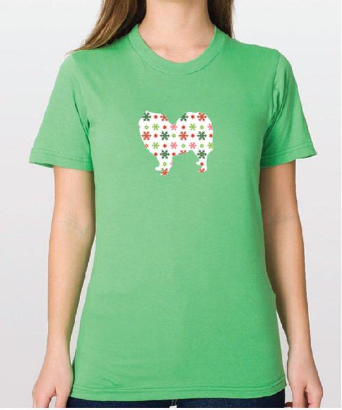 Righteous Hound - Unisex Holiday Samoyed T-Shirt