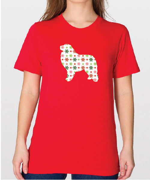 Unisex Holiday Great Pyrenees T-Shirt