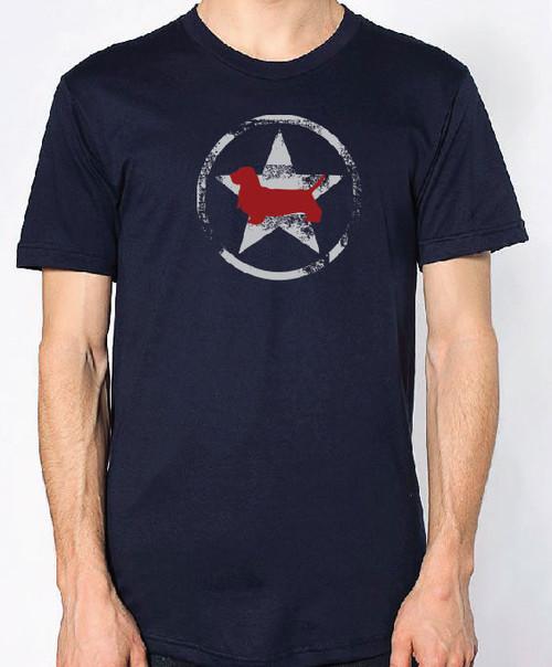 Righteous Hound - Unisex AllStar Basset Hound T-Shirt