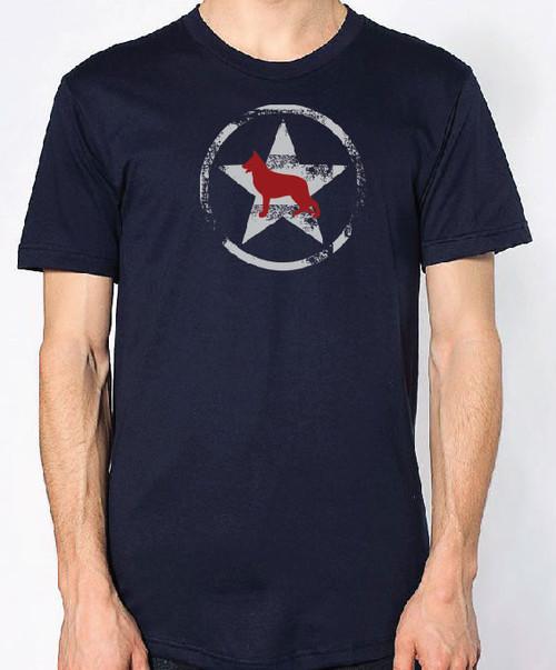 Righteous Hound - Unisex AllStar German Shepherd T-Shirt