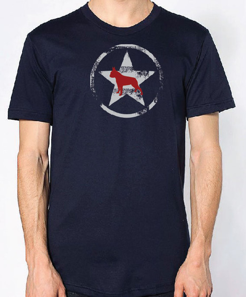 Righteous Hound - Unisex AllStar Boston Terrier T-Shirt